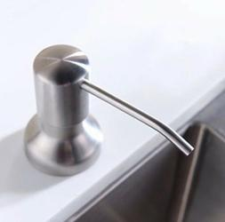 Avola Stainless Steel Built in Pump Kitchen Sink Dish Soap D