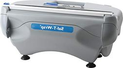 "San Jamar SW12 SAF-T-WRAP 12"" Film and Foil Wrapping Station"