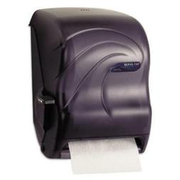 San Jamar T1190TBK Oceans Paper Towel Dispenser, Roll, Black