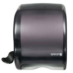 San Jamar T950TBK Element Lever Roll Towel Dispenser, Black