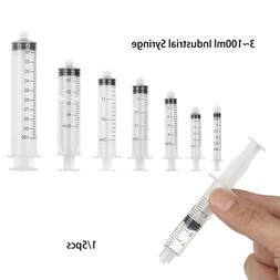 Transparent Screw Type Measuring Syringes Liquid Dispenser P