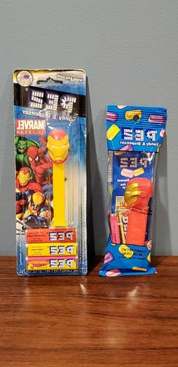 TWO  Iron Man Pez Dispensers Brand New, Fast FREE Shipping!