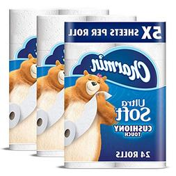 Charmin Ultra Soft Cushiony Touch Toilet Paper, 24 Family Me