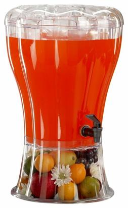 Buddeez Unbreakable 3-1/2-Gallon Beverage Dispenser with Rem