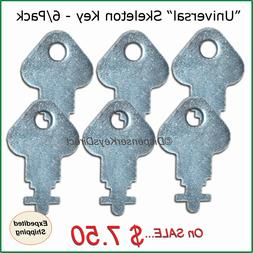 """Universal"" Skeleton Key for Paper Towel, Toilet Tissue Disp"