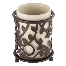 InterDesign Vine Tumbler Cup for Bathroom Vanity Countertops