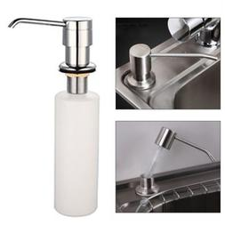 White Liquid <font><b>Soap</b></font> <font><b>Dispenser</b>
