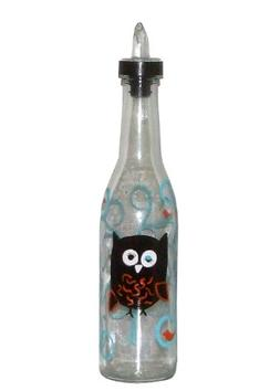 ArtisanStreet's Winking Owl Sitting in Tree Hand Painted Pou